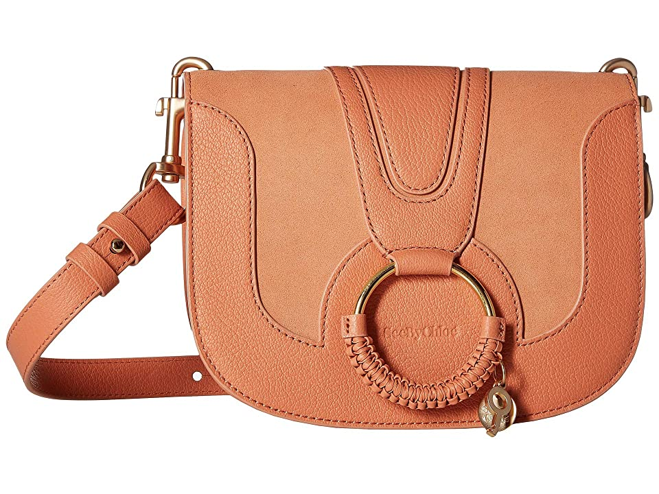 See by Chloe Hana Small Suede Leather Crossbody (Canyon Sunset) Cross Body Handbags