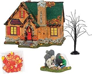 Department 56 Snow Village Happy Halloween House - Set