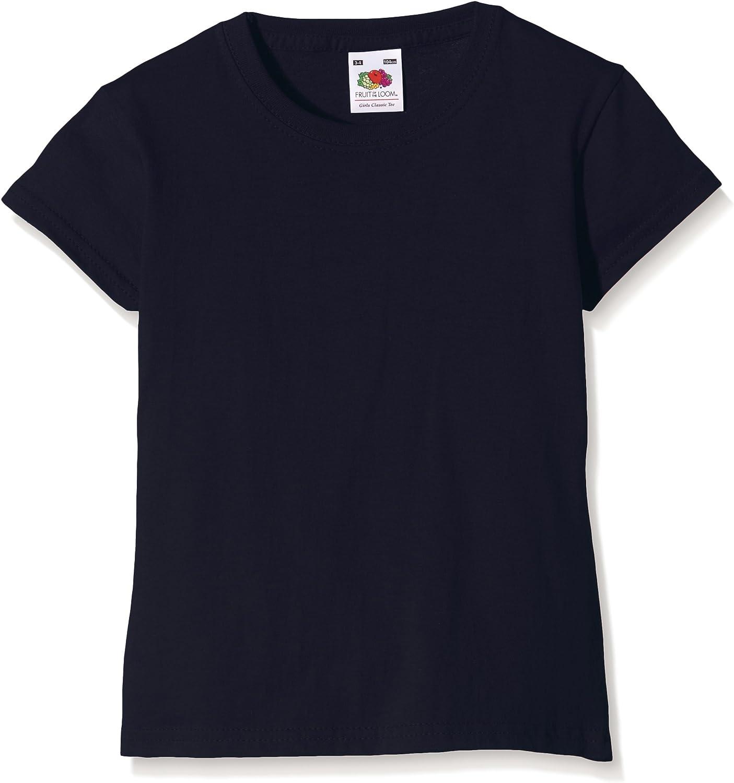 Fruit of the Loom M/ädchen Valueweight T-Shirt