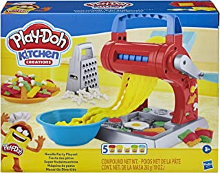 Play-Doh Kitchen Creations Noodle Party Playset for Kids...