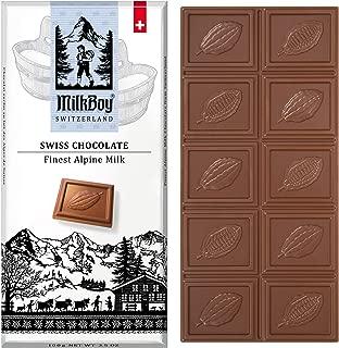 Milkboy Swiss Chocolates - Alpine Milk Chocolate Bars (5 Pack)