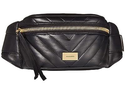 AllSaints Justine Bumbag (Black) Handbags
