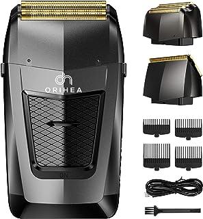Men's Professional Foil Shaver, OriHea 2 in 1 Electric Razor for Men Aluminum Foil Metal Cordless...