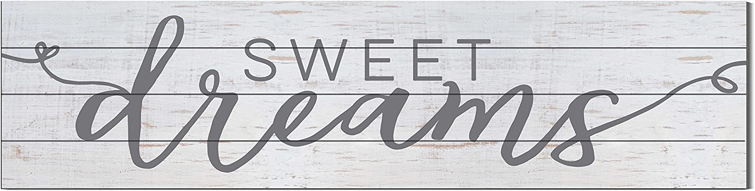 Kindred Hearts 40  x 10  Sweet Dreams Shiplap Wall Sign