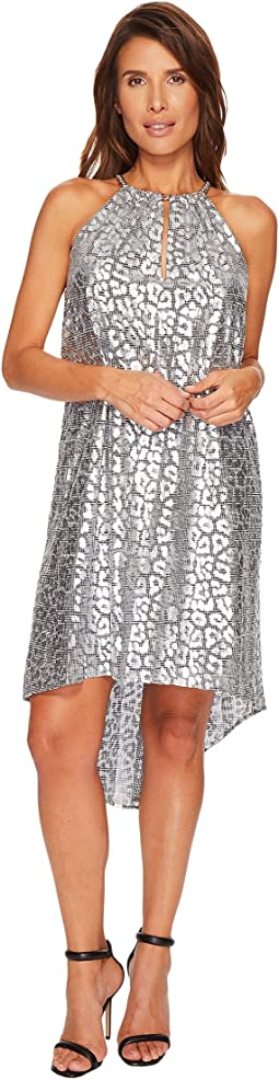 MICHAEL Michael Kors - Leopard Chain Dress