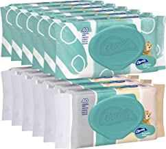 Charmin Freshmates Flushable Wet Wipes for Adults, 12 Resealable Packs, 40 Wipes per Pack (480 Wipes Total)