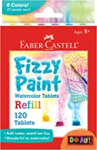 Faber Castell Fizzy Paint Refill Pack, Multicolor