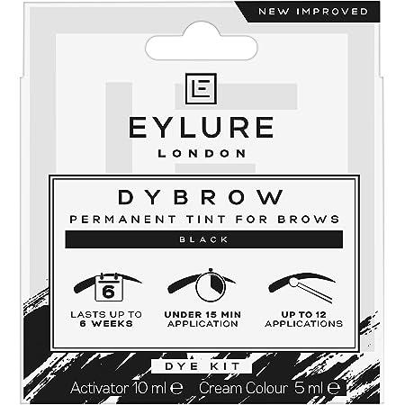 Eylure Dybrow - Kit de tinte para cejas, Negro