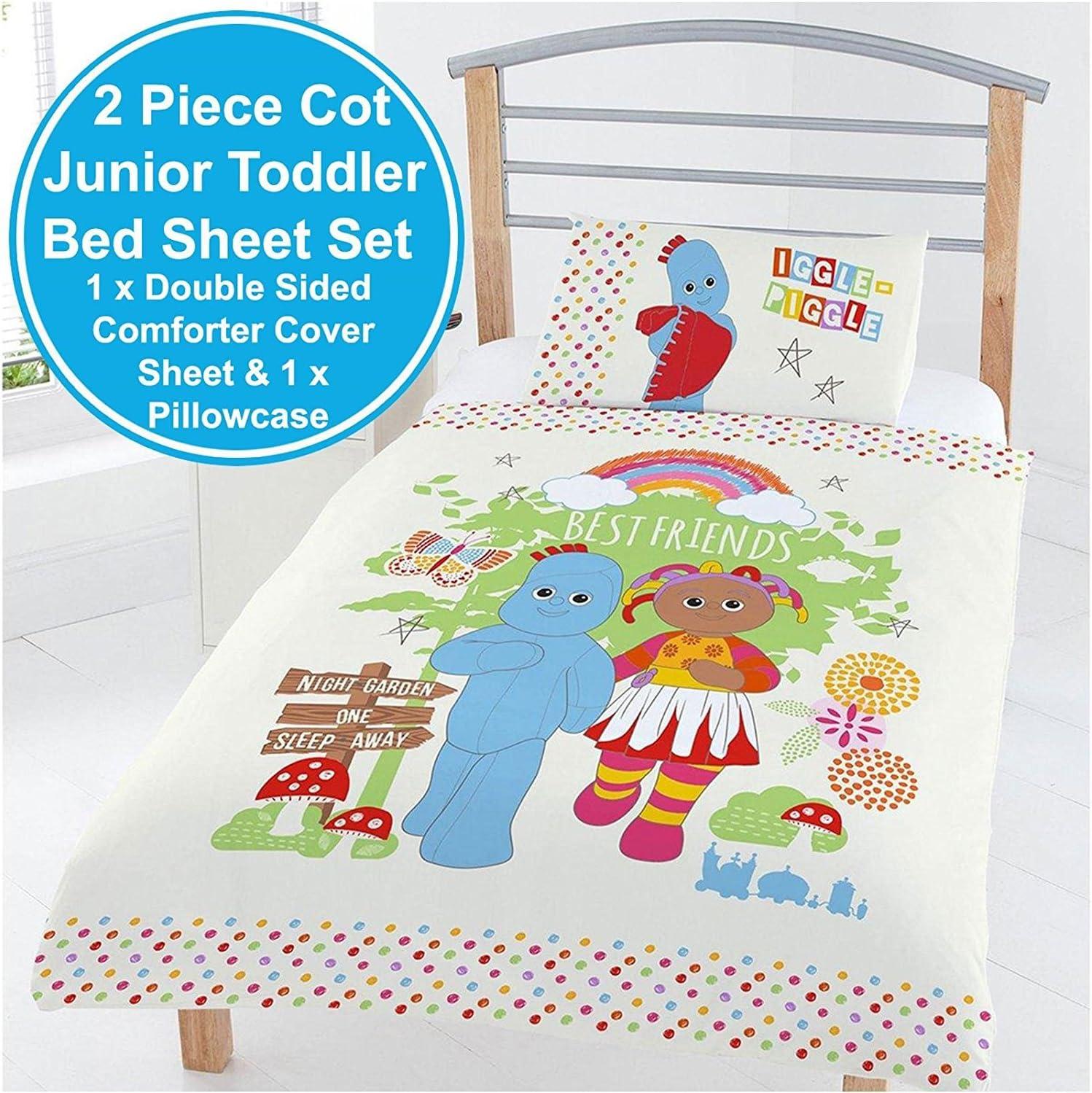 Polyester-Cotton In the Night Garden In the Best Friends Junior Duvet Set Multi-Colour Full