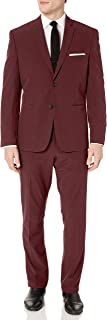Perry Ellis Men's Slim Fit Machine Washable Tech Suit