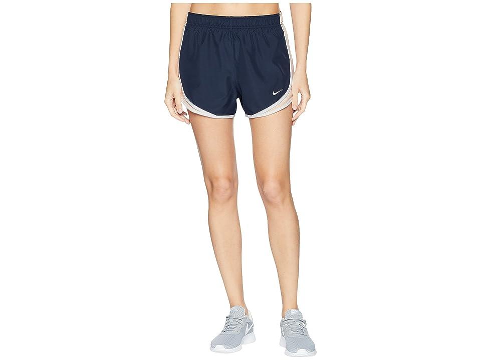 Nike Dry Tempo Short (Obsidian/Crimson Tint/Wolf Grey) Women