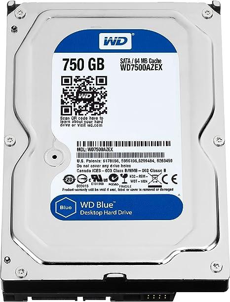 Western Digital Wd7500azex Blue 750gb Interne Computer Zubehör