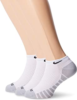 NIKE, U Nk Everyday Max Ltwt Ns 3pr Calcetines Unisex adulto