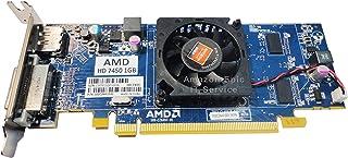 AMD Radeon HD 7450 1GB / 1024MB ロープロファイルグラフィックカード スリム/SFFサイズのコンピューターにフィット