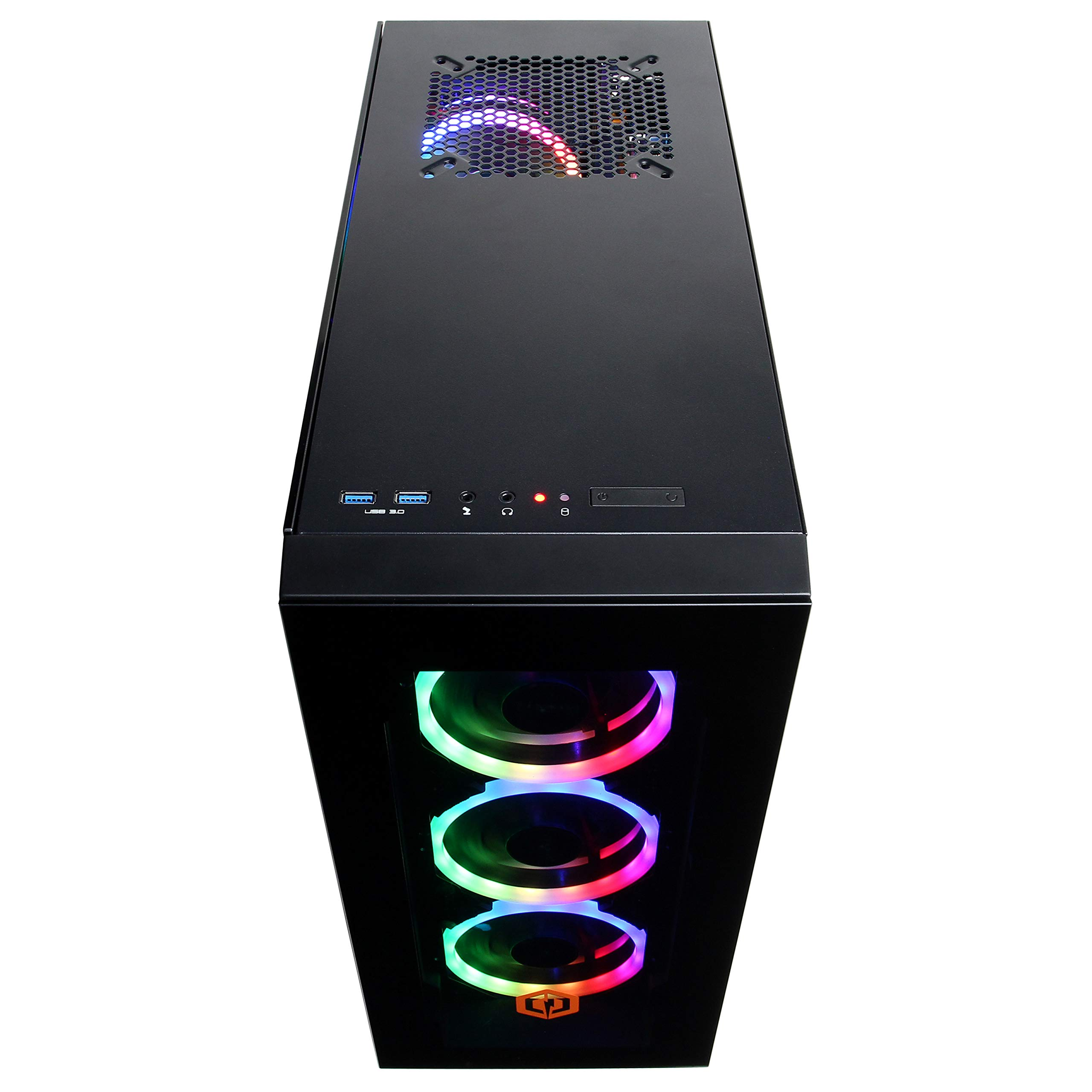 CYBERPOWERPC Gamer Xtreme VR Gaming PC, Intel Core i7 11700KF 3.6GHz, GeForce RTX 3060 12GB, 16GB DDR4, 500GB NVMe SSD, 2TB HDD, WiFi Ready & Windows 10 Home (GXiVR8400A7, Black)