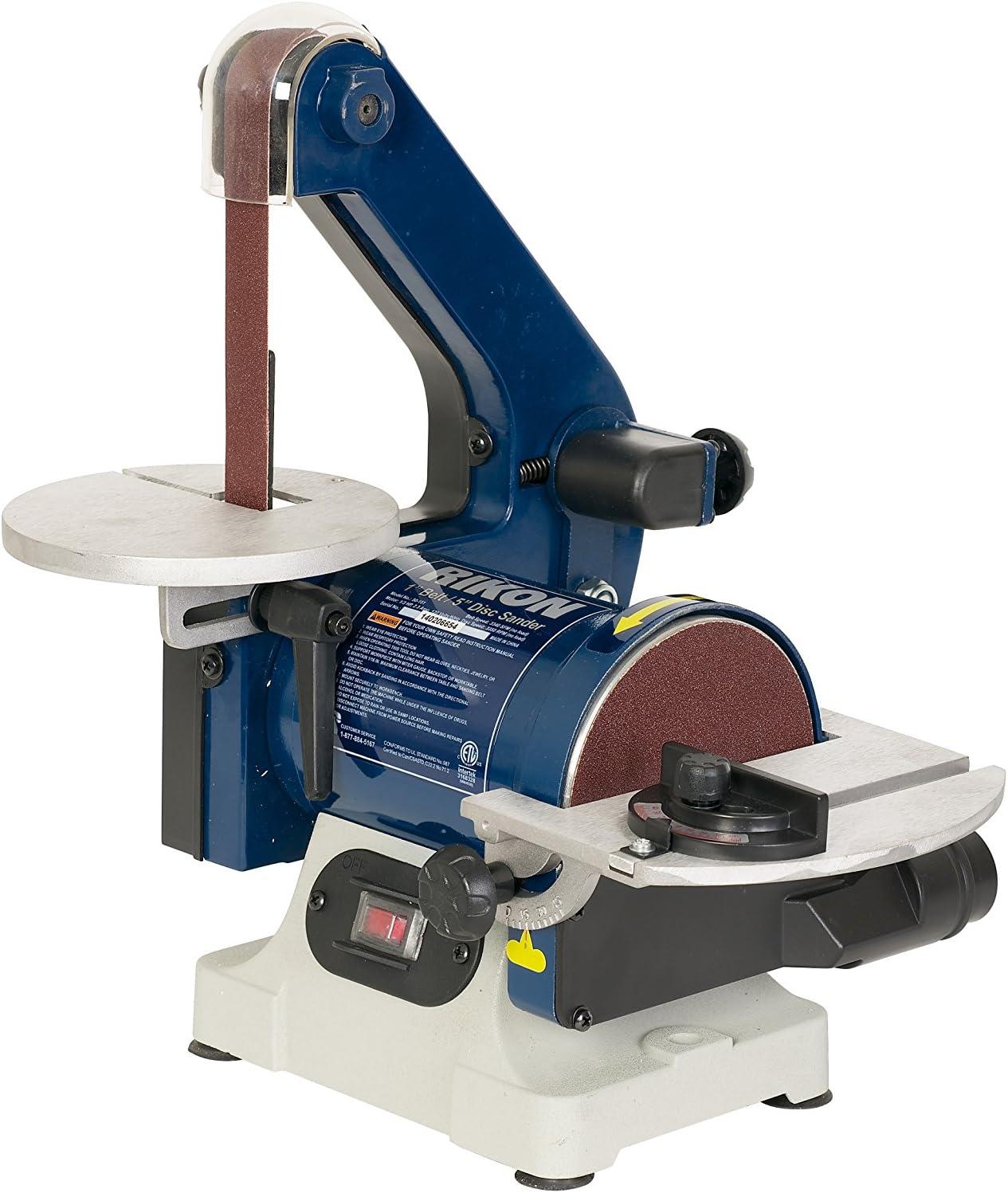 RIKON Power Tools 50-151 Belt and Disk Sander Combo, Blue