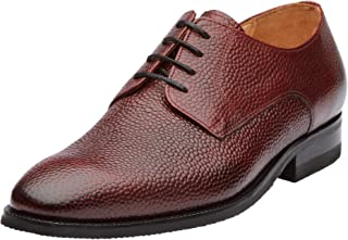 DAPPER SHOES CO. Handcrafted Genuine Leather Men's Wingtip Brogue Oxford Leather Lined Shoes
