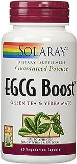 Solaray EGCG Boost Vegetarian Capsules, 450 mg, 60 Count