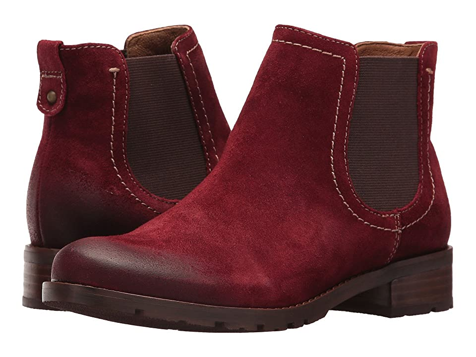 Sofft Selby (Bordo Suede) Women
