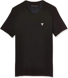 GUESS Men's V Core Bar T-Shirt
