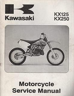 2003 KAWASAKI MOTORCYCLE KX125 & KX250 SERVICE MANUAL 99924-1298-01 (983)