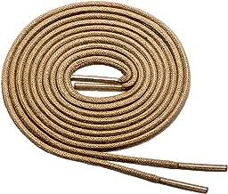 "Birch's 3/32""(2.4 mm) Thin Premium Round Waxed Cotton Dress Shoelaces"