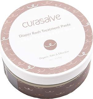Curasalve Organic Diaper Rash Treatment Paste, 3oz