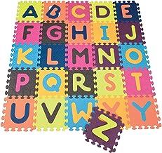 B. Toys BX1210Z - Baldosas de Alfabeto, Multicolor
