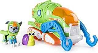 Paw Patrol - Sea Patrol Rocky's Transforming Sea Patrol Vehicle - Includes Rocky Figurine & Bonus Sea Friend - Ages 3+