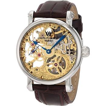 Charles-Hubert, Paris Men's 3887-A Premium Collection Stainless Steel Mechanical Watch