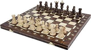 ポーランド製 大盤木製チェスセット53cmチェス盤チェス駒セット Poland wood chess