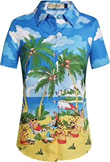 Best womens novelty button down shirts Reviews