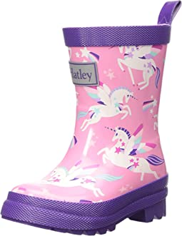 Rainbow Unicorns Rain Boots (Toddler/Little Kid)