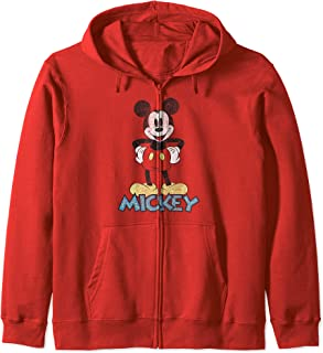 Disney Mickey 90s Mickey Mouse Sweat à Capuche
