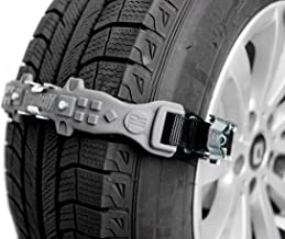 TreadReady Adirondack Strap (Gray) AS10PG1 Emergency Traction Device for Snow Sand and MUD - Easier Than Snow Chains!