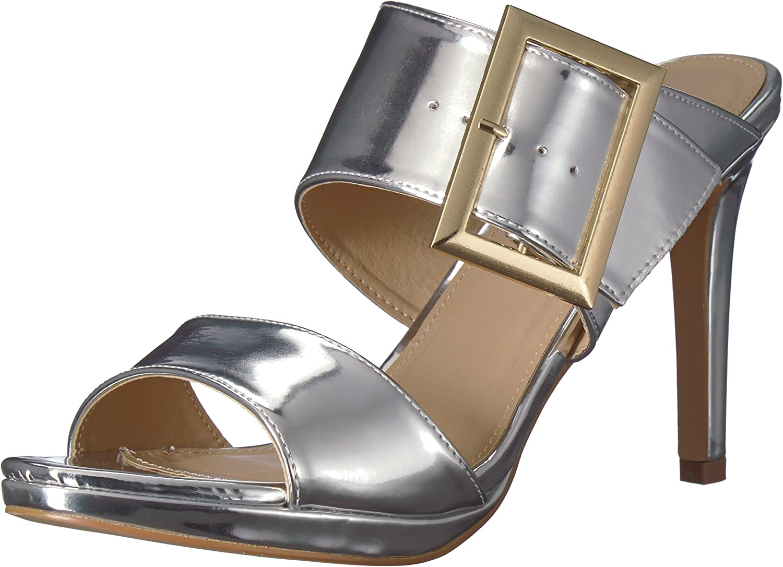 2 Lips Too Womens Too Dazed Heeled Sandal