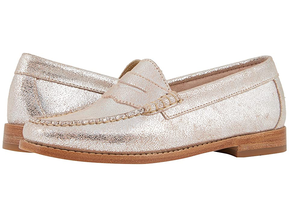 G.H. Bass & Co. Whitney Weejuns (Pink Metallic Leather) Women