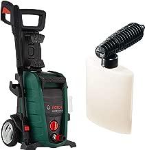 Bosch Aquatak 125 1500-Watt High Pressure Washer (Green) & F016800355 High Pressure Detergent Nozzle (Black) Combo