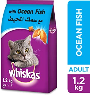 Whiskas Ocean Fish Cat Food - 1.2kg