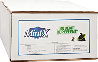 Mint-X Rodent Repellent Trash Bags, Commercial Sizes (Box of 250)