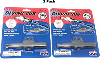 Toysmith Diving Sub Toy (2-Pack)