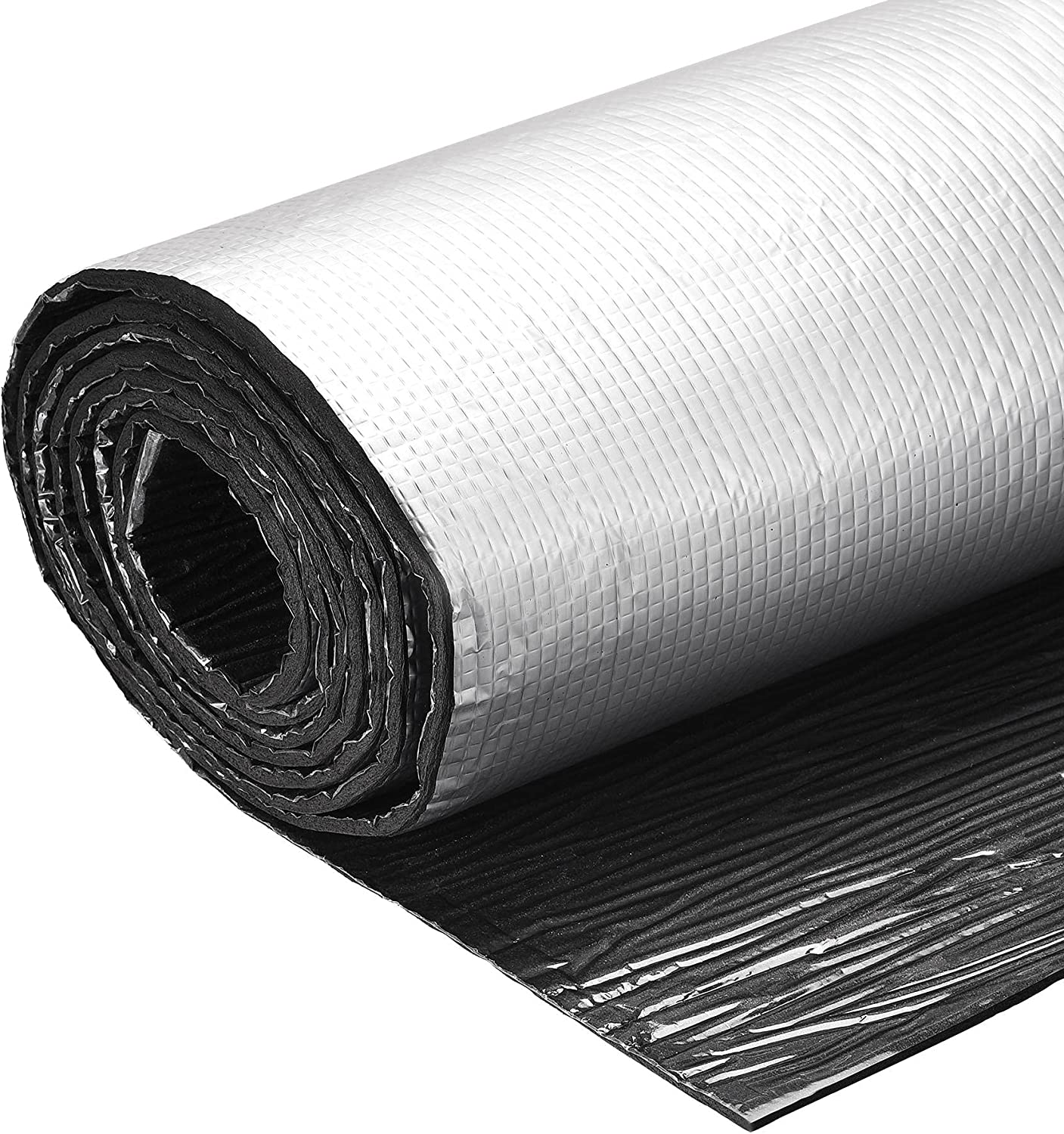 uxcell New product! New type Insulation Sheet Embossed Baltimore Mall 3meterx0.5mx5mm Self-Adhesive