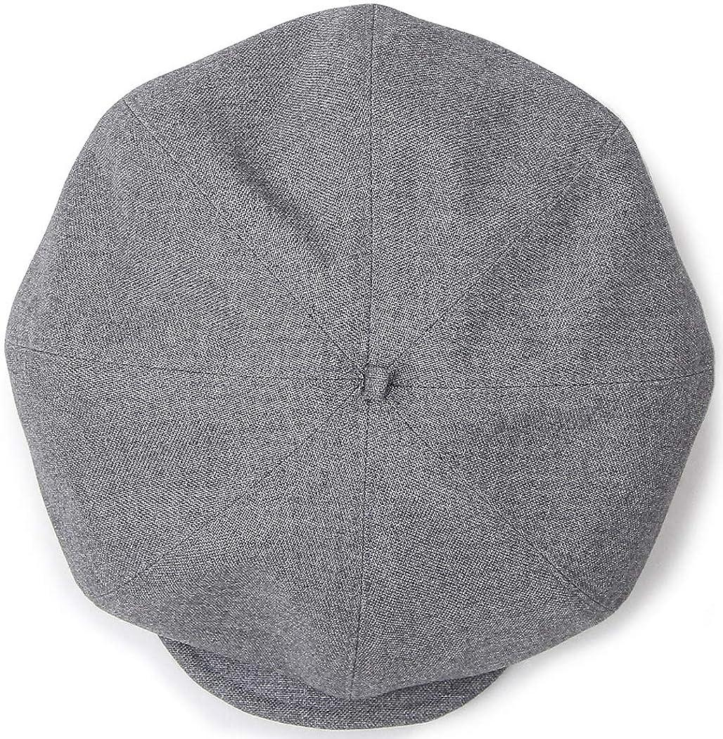 比較のみ不良品[BlissLeather] 日本製 ベレー帽 キャスケット 帽子 2WAY コットン 男女兼用 BLMC-2004_p