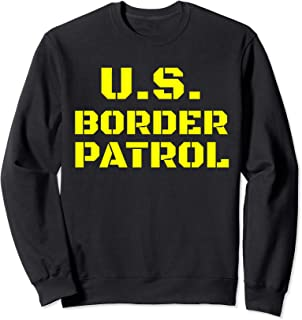 Halloween Immigration Customs Enforcement Border Patrol Sweatshirt