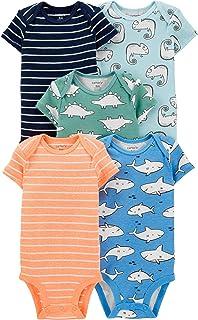 Carter's Baby Boys' 5 Pack Bodysuits 126g119