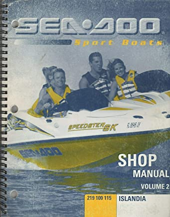 Amazon com: Seadoo Speedster Manuals: Books