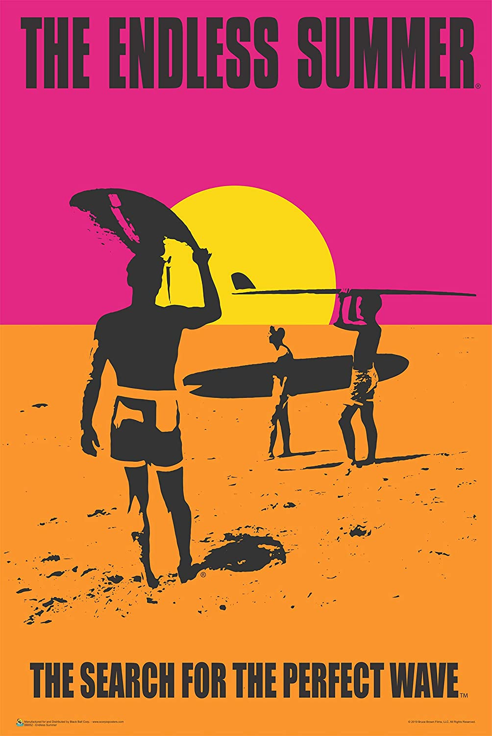 The Endless Summer Movie Poster 24x36 Paper Posters Prints