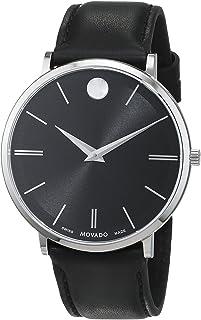Movado - Reloj Analogico para Hombre de Cuarzo con Correa en Piel 607086