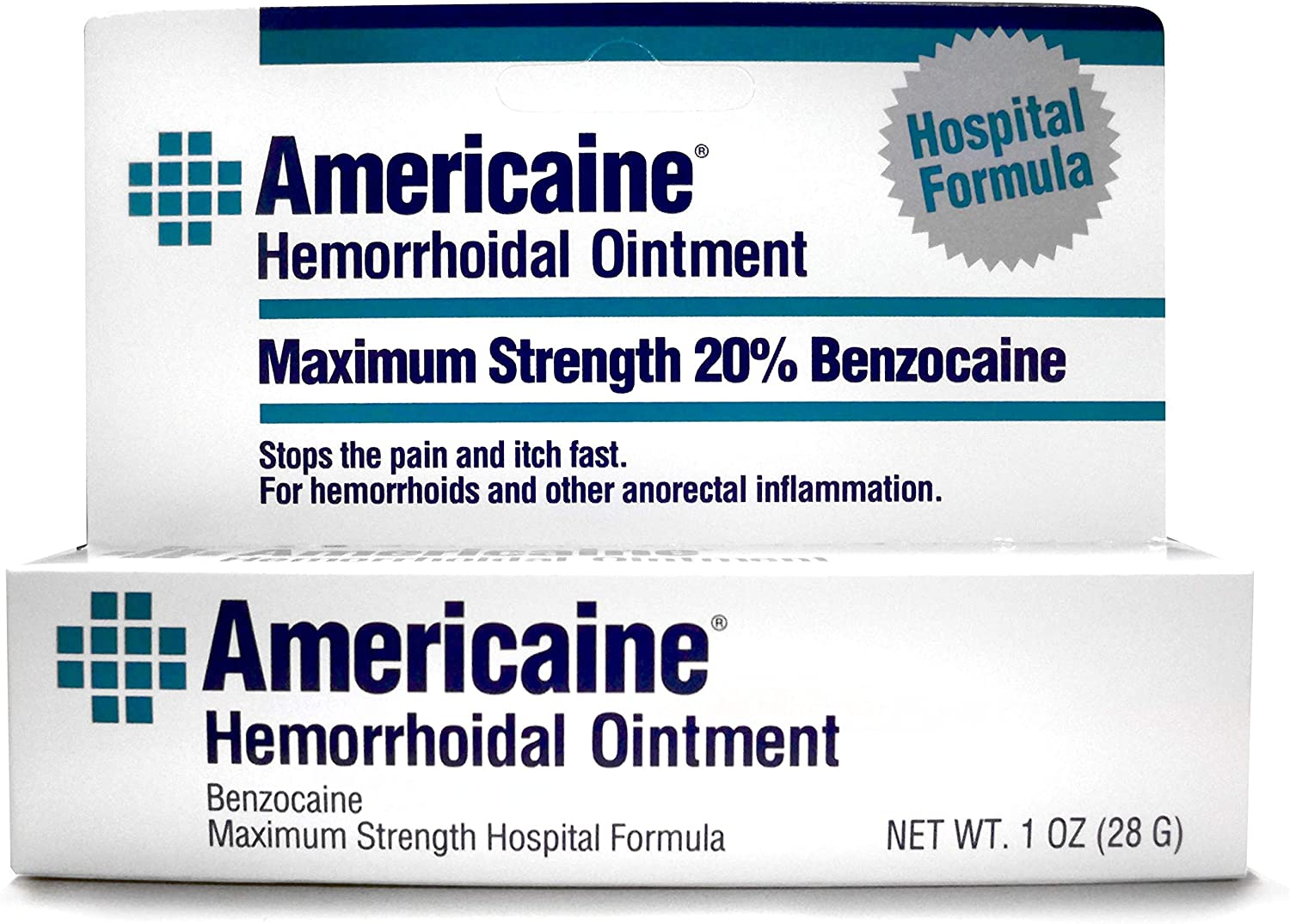 Americaine OFFicial store Hemorrhoidal Ointment Soldering Maximum Benzocaine 20% Strength