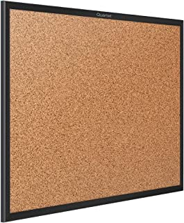 Quartet Cork Board, Bulletin Board, 8' x 4', Corkboard, Black Frame (2308B)